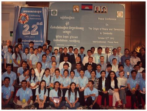 peace conference participants